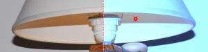 Ejemplo de corrección de blancos en una fotografía digital