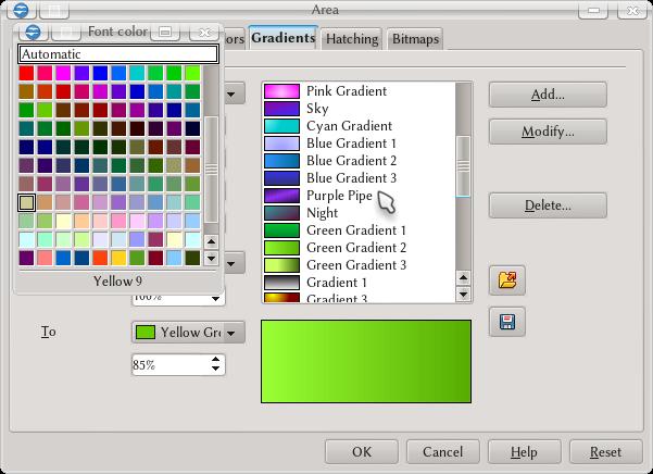 ColorGradiente