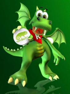 konqui-openSUSE-s