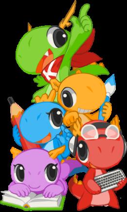 mascot_20140702_konqui-group_wee