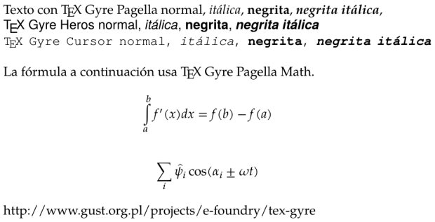 TeXGyre